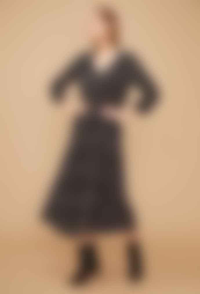 Louizon Viscose Wavy Dress