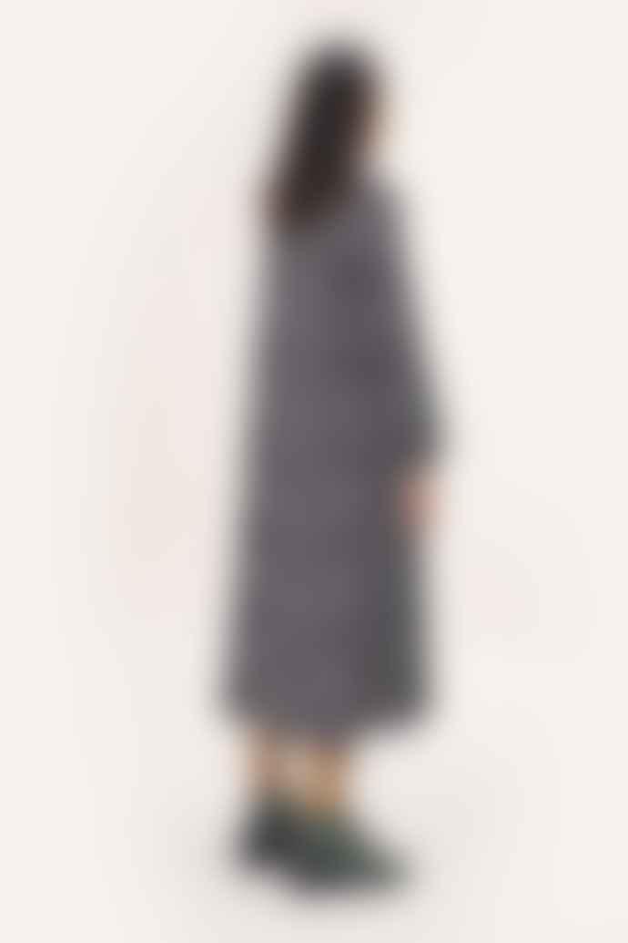 Stine Goya Leila Black White Snake Dress