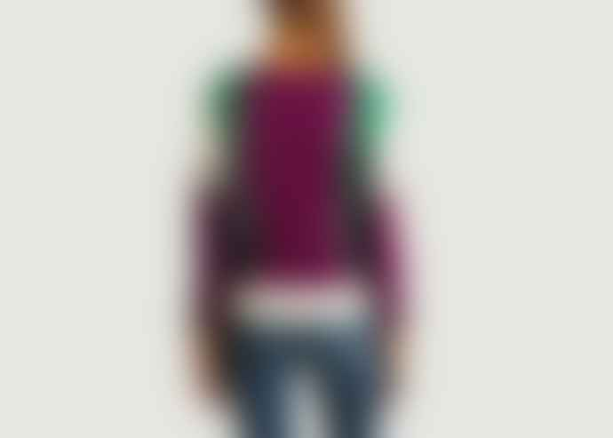 Le Mont St Michel Multicolour Merino Wool Colorblock Jacquard Soline Sweater