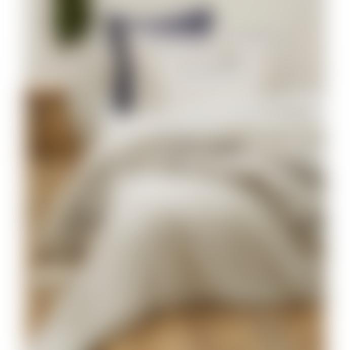 Sylvie Thiriez Wild Stone Colored Cotton Owls Embroidered Bedding