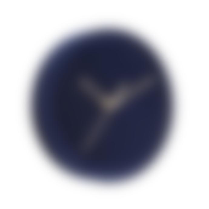 Karlsson Dark Blue Velvet Wall Clock (6 colours)