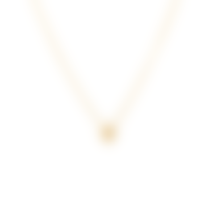 Anna + Nina Gold Plated Sterling Silver Giza Neclace