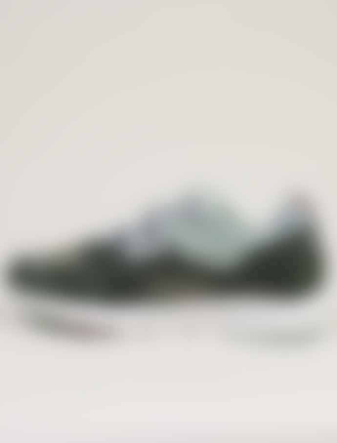 Karhu Green and Aqua Grey Forest Shoes