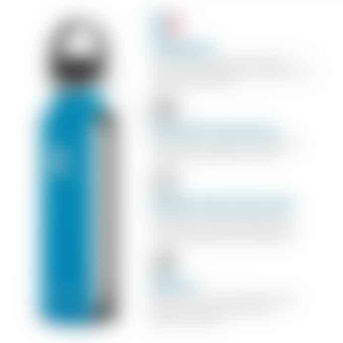Hydro Flask Bottle 18 Oz White