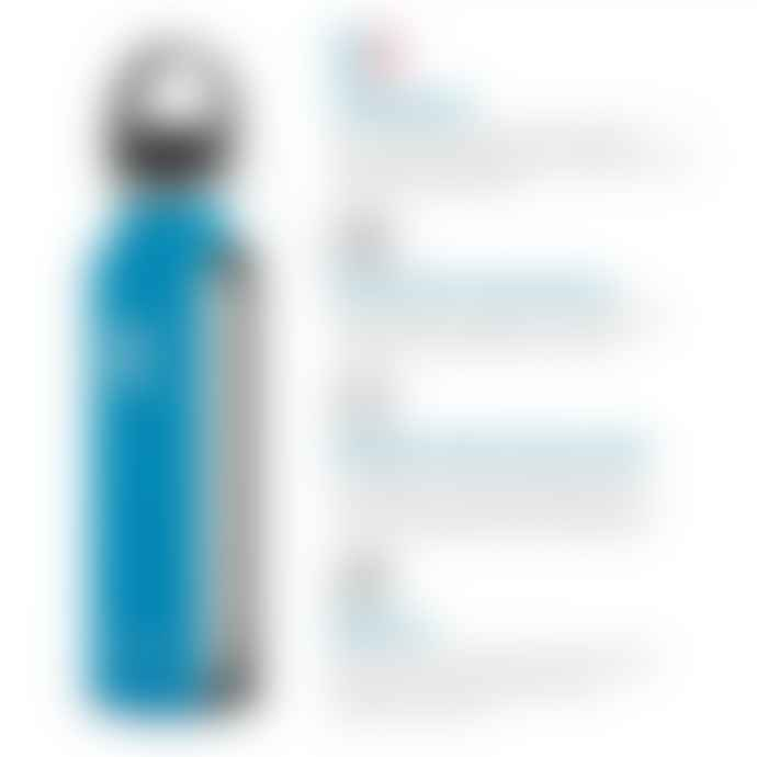 Hydro Flask Bottle 18 Oz Black