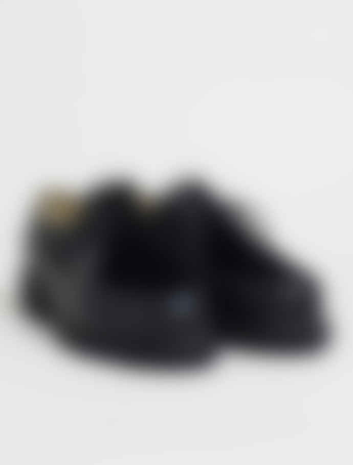 Paraboot Black Michael Lis Lapin Shoes