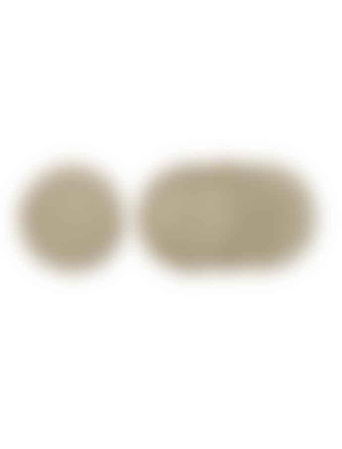 PLACEMATS JUTE TABLE SET (x2)