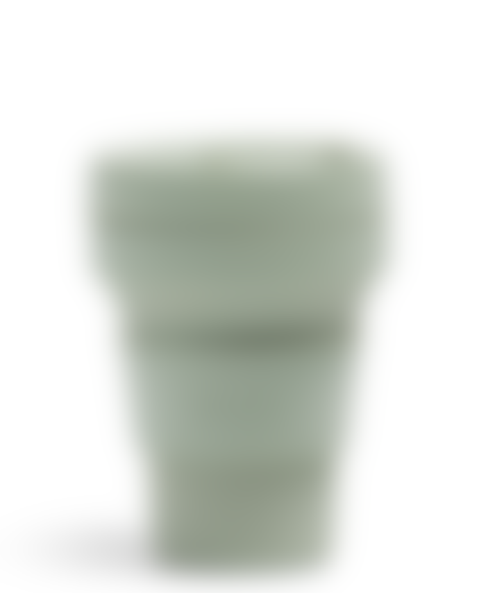 Stojo 12 oz Sage Green Collapsible Coffee Cup