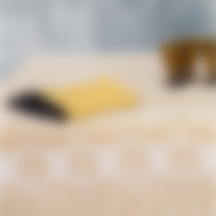 Balakata 160 x 270cm Mustard Bhuj Linen Tablecloth