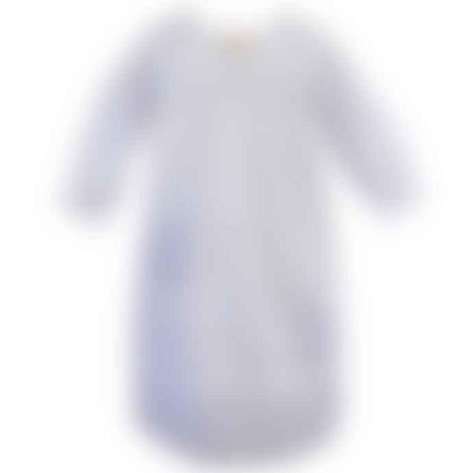 Powell Craft Girls White Cotton Unicorn Embroidered Nightdress