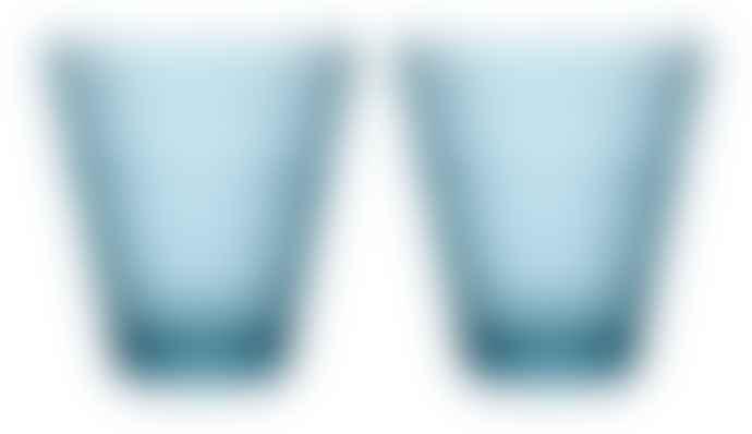 Iittala   Kastehelmi Glass Tumbler Set of 2