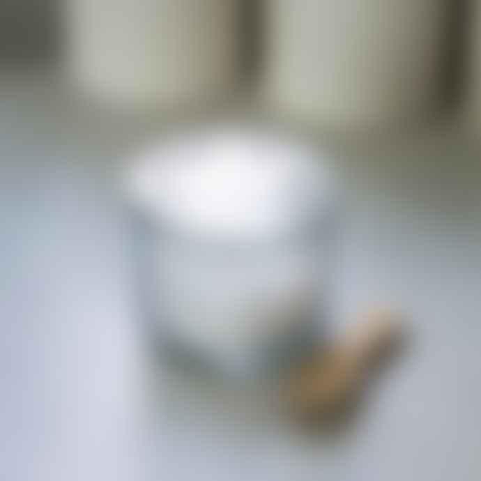 Glass Salt Pot