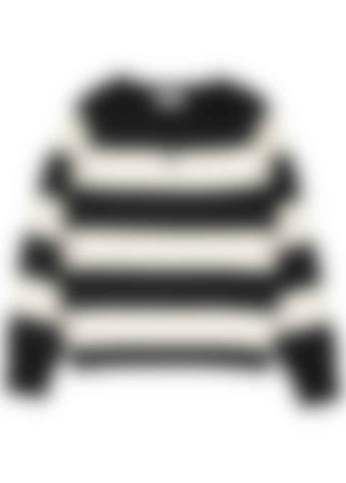 Essentiel Antwerp Viken Striped Cashmere Knit