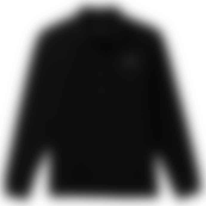 Emporio Armani  Core Id Long Sleeve Jersey Polo Black