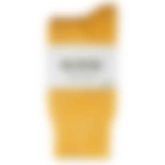 RoToTo Double Face Merino Wool Socks Yellow