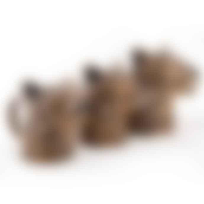 Quail Ceramics Small Leopard Jug