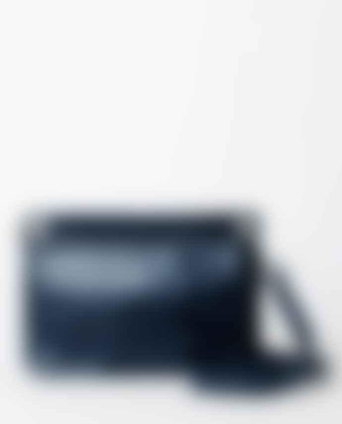 Treats Serena Navy Croc Bag