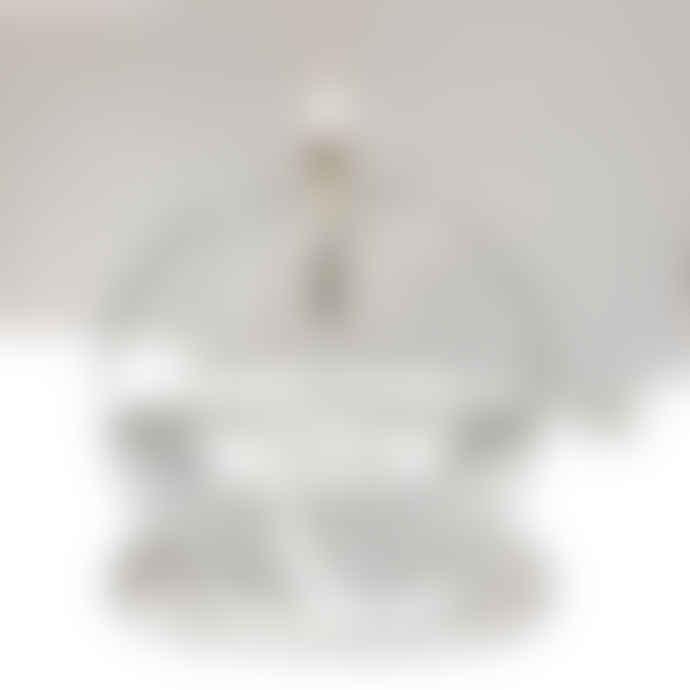 Periglass Glass round shaped oil lamp, size L