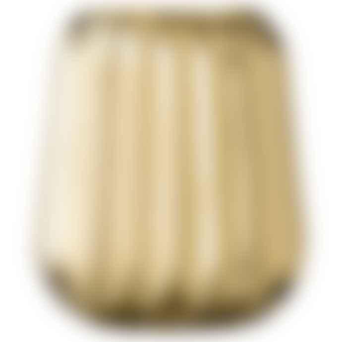Bloomingville Fluted Golden Vase