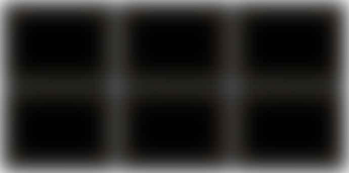 Pimpernel Set of 6 30.5 x 23cm Black Classic Placemats