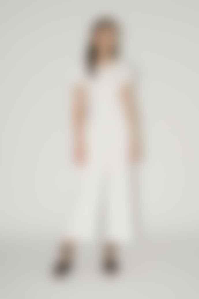 Diarte Maura White Jumpsuit