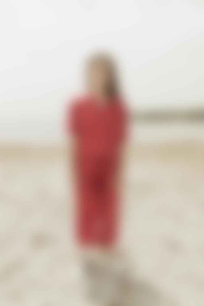 The New Society Frida Linen Blouse