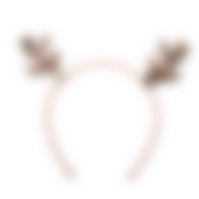 Rockahula Sequin Reindeer Headband
