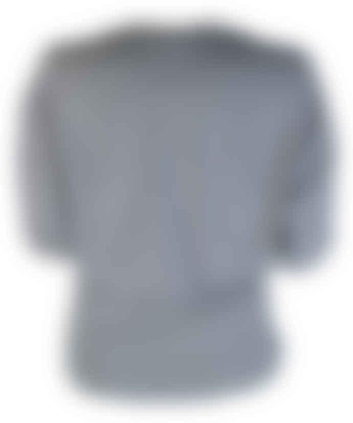 Format MIND ecru striped shirt