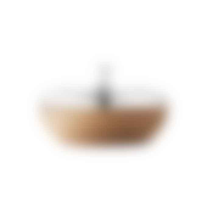 Georg Jensen  9.5cm Oak Wood Turnip Box