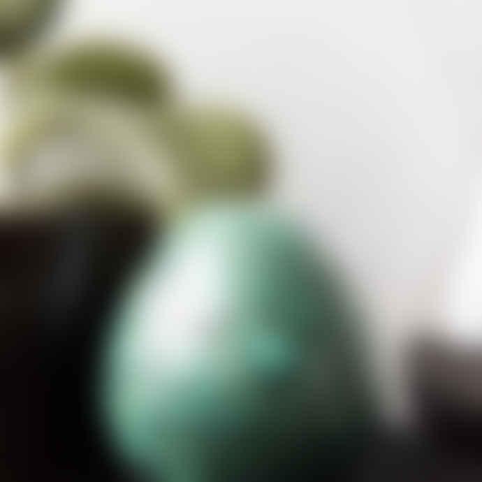 House Doctor Turquoise Unique Lille Vase