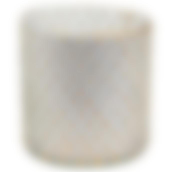 De Weldaad Glass Tea Light Holder - Golden Dots