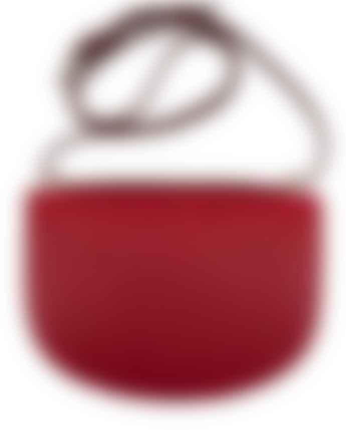 A.P.C. Geneve Handbag Garnet