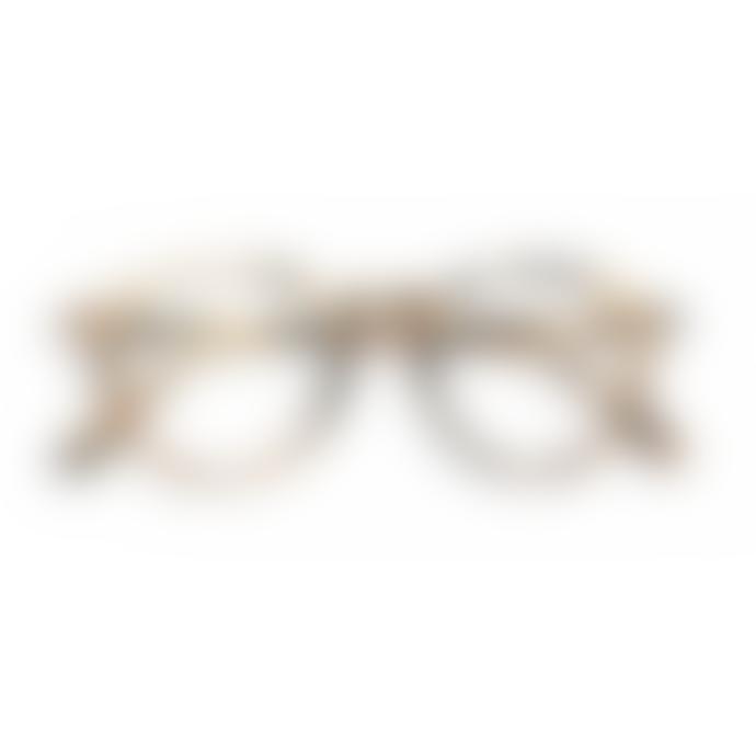 IZIPIZI Screen Protection Glasses in Light Tortoise (Frame Shape #D)