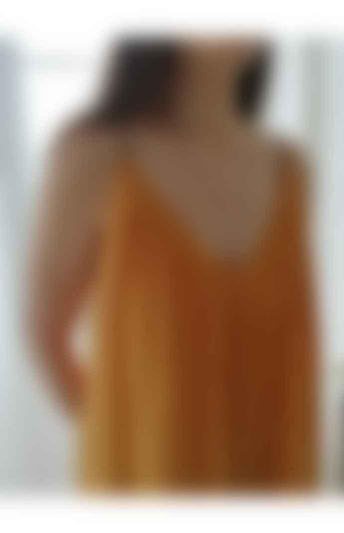 Louizon Mustard Dress with Straps/98