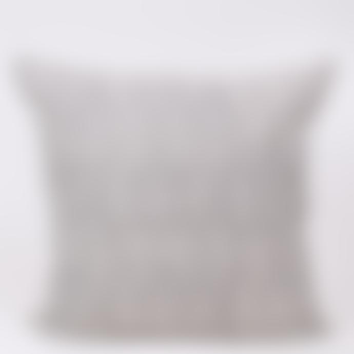 Afroart 50x50 cm White/Grey Ormbunke Cushion Cover