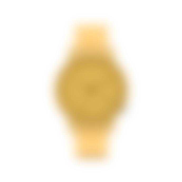 Komono Mono Ocher Glow Wristwatch