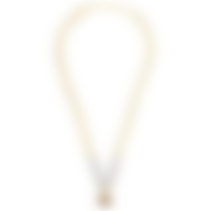 Previous Labradorite and Garnet Gold-Plated Bronze Necklace