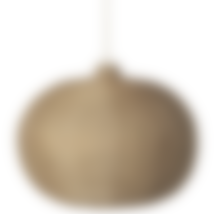 Ferm Living Rattan Natural Braided Pendant Lamp