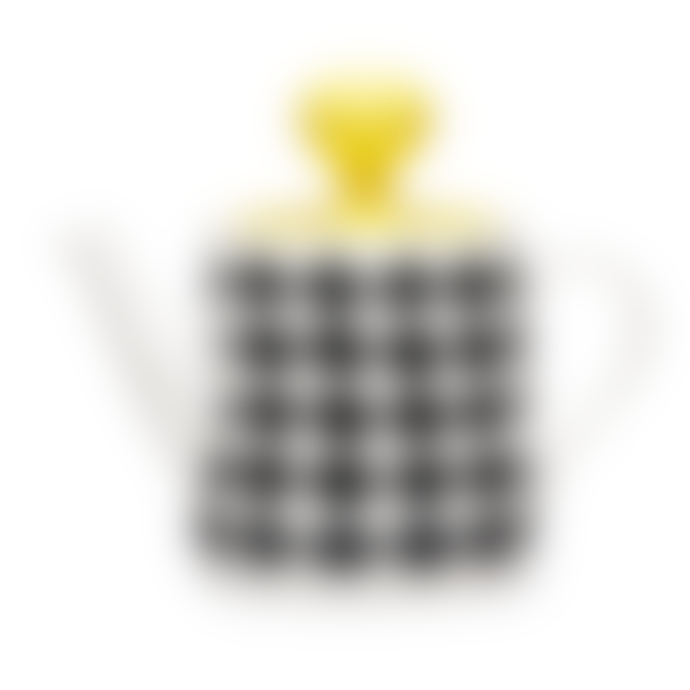 Littlephant Black Waves Porcelain Teapot