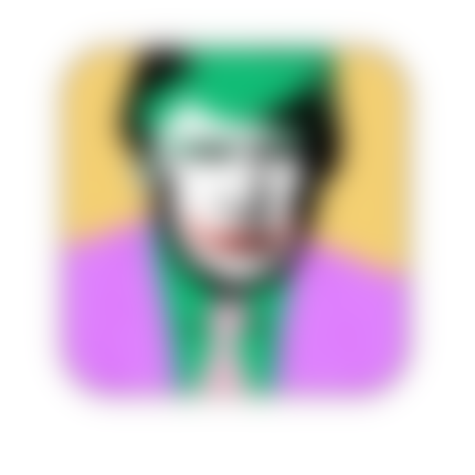 Artwow Melamine Donald - The Joker - Coaster