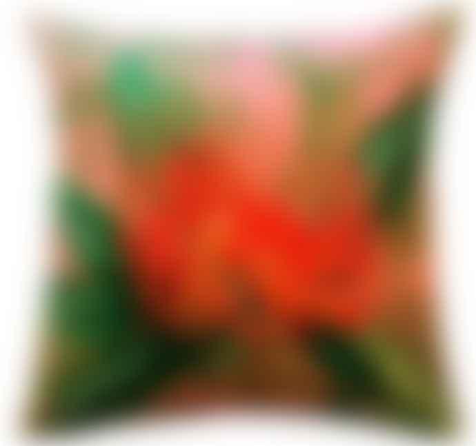 Vanilla Fly 50 x 50cm Coral Velvet Nutans Cushion Cover LA50