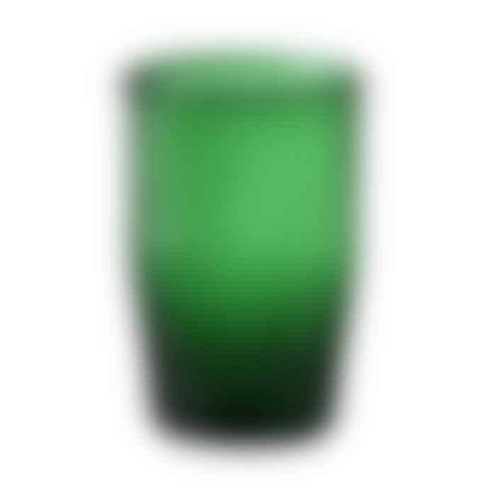 Bungalow DK 230ml Pine Green Siesta Water Glass