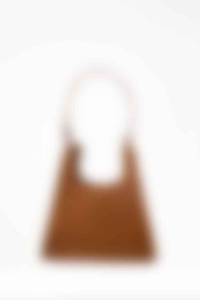 Collection & Co Aries Tan Faux Croc Bag