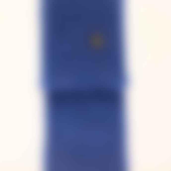 Ezcaray Mohair scarf blue (#456) 170x18 cm