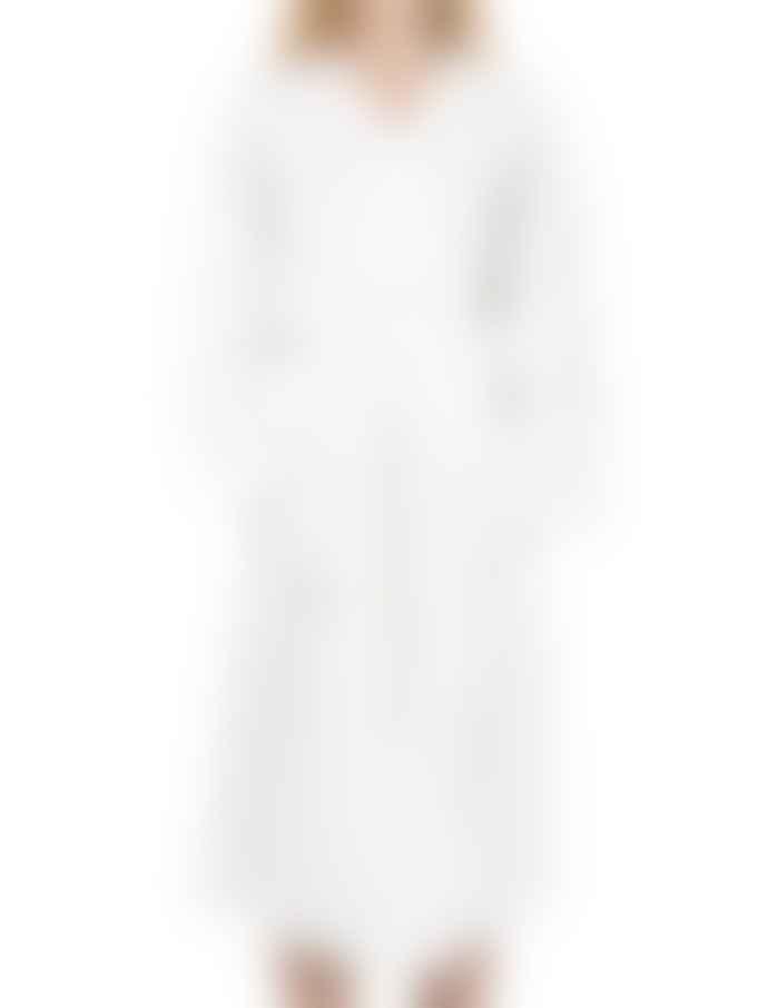 Terrible Twins White Linen Kimono Bathrobe
