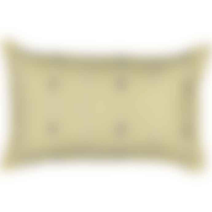 Trendy Pillows Yellow Sumi Cushion Cover