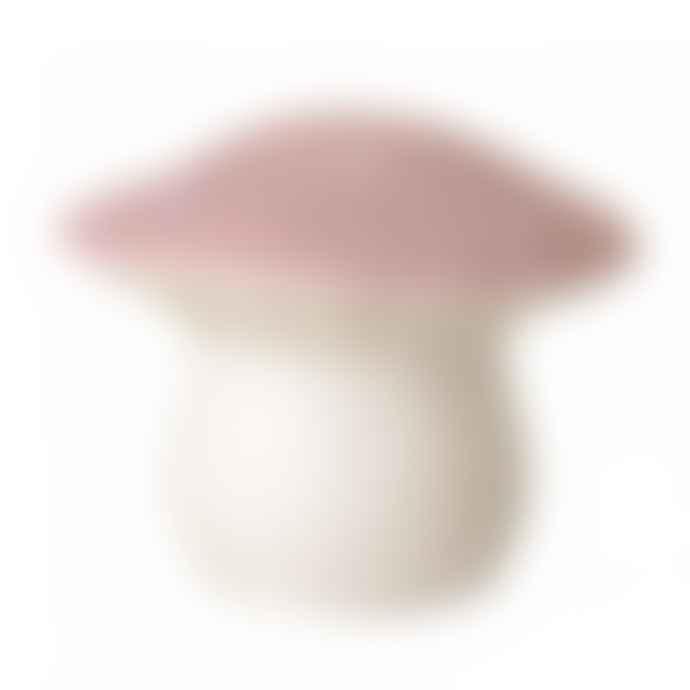 Heico  Medium Pink Toadstool Lamp Night Light