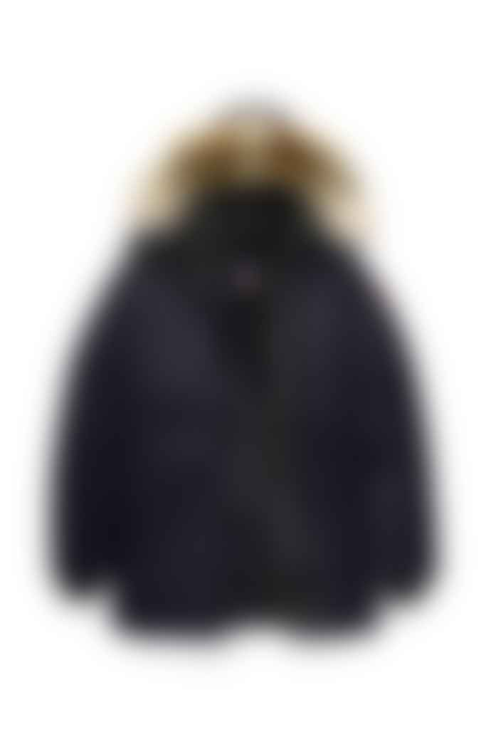 Canada Goose Chateau Parka Fusion Fit Navy Herren