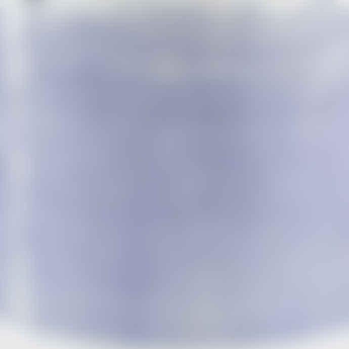 casa atlantica Blue Horizontal Stripes Terracotta Pot XL with terracotta plate