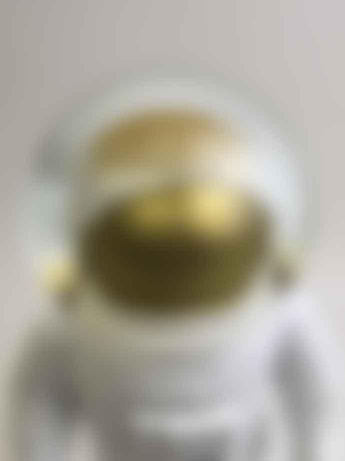 Donkey Products Great Snowglobe Astronaut Figurine